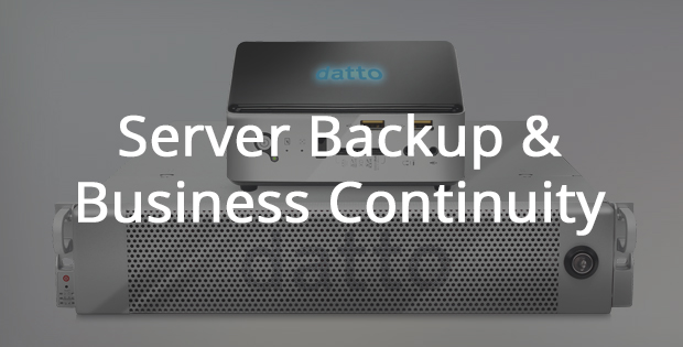 Server Backup and Business Continuity